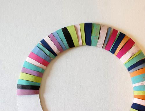 Cách biến tấu vòng hoa Giáng sinh đầy màu sắc - 5