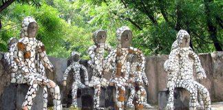 Vườn đá lạ ở Ấn Độ - 1
