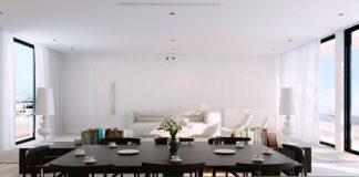 Ấn tượng phòng ăn màu trắng - Archi