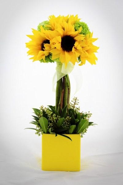 Cách cắm hoa hướng dương đẹp đến khó cưỡng 5