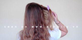 Cách tự tết tóc đuôi sam kiểu Hà Lan - 1