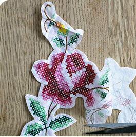 Trang trí lọ hoa bằng khăn giấy màu dễ thương - 3