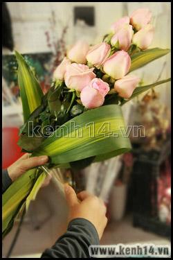 Cách bó hoa hồng thể hiện sự trân trọng - 3