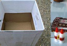 Tái chế giấy báo làm hộp đựng đồ tiện dụng
