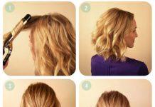 Hướng dẫn kiểu vấn tuyệt xinh cho tóc ngắn - 1