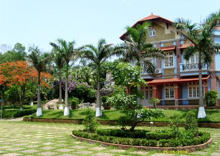 Trồng cây theo phong thủy cho biệt thự nhà vườn - 2