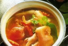 Hướng dẫn nấu canh chua giò heo - 1
