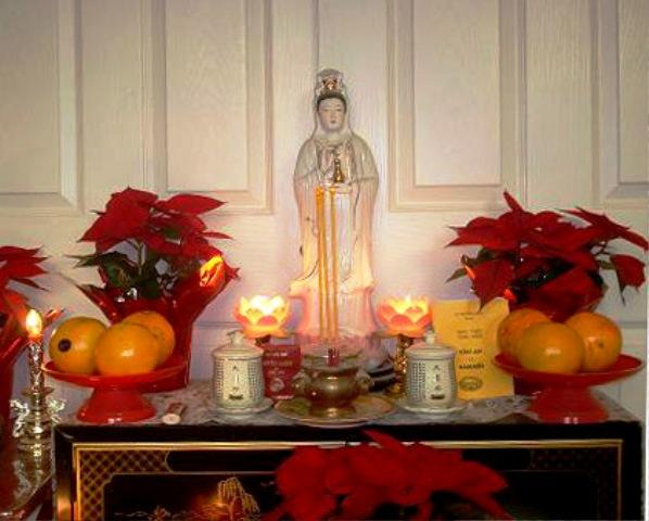 Đặt tượng Phật ở đâu để đón vận may, xua tan điềm dữ?