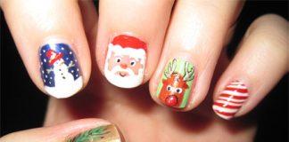 Gợi ý 6 mẫu nail đẹp và độc cho mùa Giáng Sinh