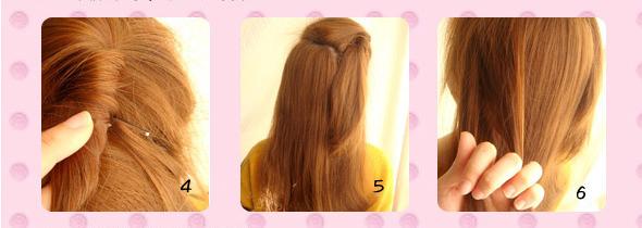 Hướng dẫn tết kiểu tóc viền xinh như công chúa