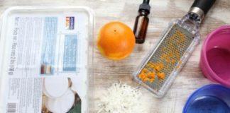 Tự làm xà bông trắng da hương cam dừa - 2