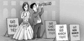 Ngán ngẩm khi đi ăn tiệc cưới của người Việt