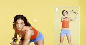 4 động tác thể dục đơn giản cho vòng eo thon sau Tết