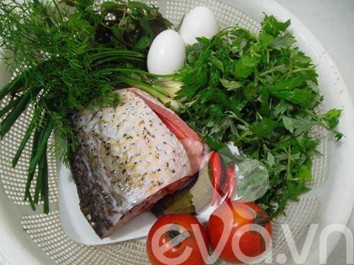 Cách chế biến cá chép hấp ngải cứu cho ngày cuối tuần