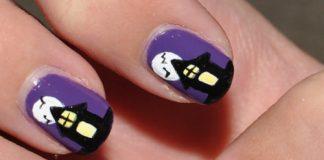 Vẽ nail đẹp 'ma mị' chơi Halloween - 1
