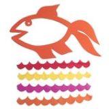 Làm đồ trang trí ngày Tết hình chú cá vàng mang may mắn