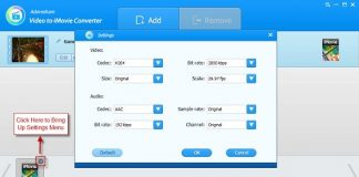 Adoreshare Video to iMovie Converter v1.4.0.0-P2P