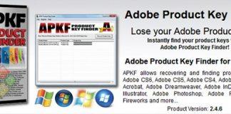 APKF Adobe Product Key Finder v2.5.0.0-P2P