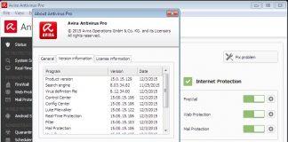 Avira Antivirus Pro v15.0.33.24-P2P