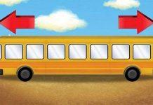 Theo bạn chiếc xe bus này đang chạy về hướng nào?