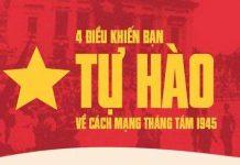 4 lý do để người Việt Nam tự hào khi nói về Cách mạng tháng Tám 1945