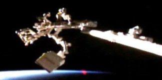 Bí ẩn đốm sáng hình trái tim lượn quanh trạm ISS