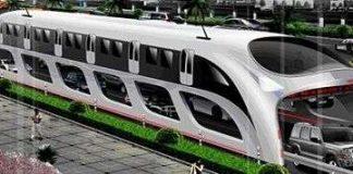 Trung Quốc giải quyết vấn nạn kẹt xe bằng xe buýt 3 chiều