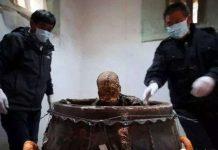 Quy trình ướp xác Phật sống Trung Quốc