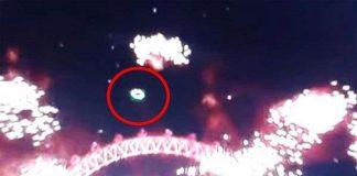 """Kinh ngạc """"đĩa bay"""" xuất hiện trên bầu trời London"""