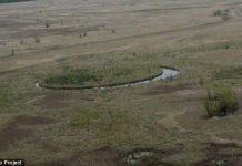 Hòn đảo tròn nghi là căn cứ của người ngoài hành tinh