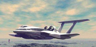 Tàu biển lai máy bay di chuyển nhờ đệm không khí