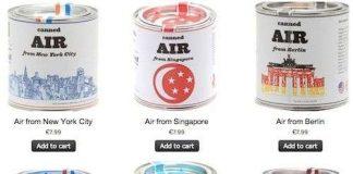 Không khí đóng hộp