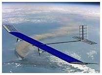 Máy bay mặt trời bay xuyên đêm