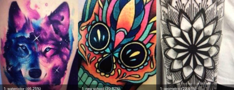 Ứng dụng này sẽ phân tích Tattoo bằng cách sử dụng AI