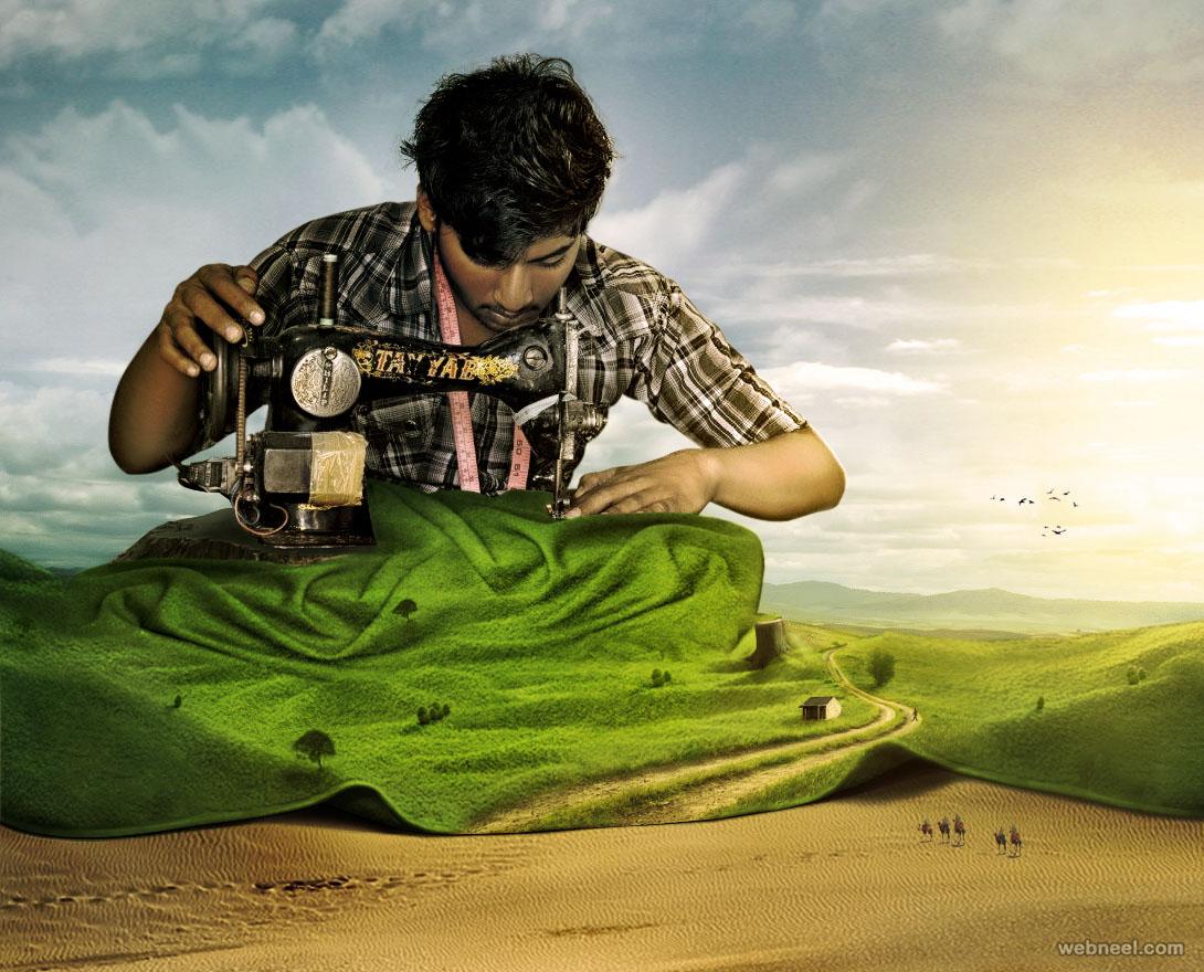 Thêm nguồn cảm hứng từ những hình ảnh Photoshop sáng tạo