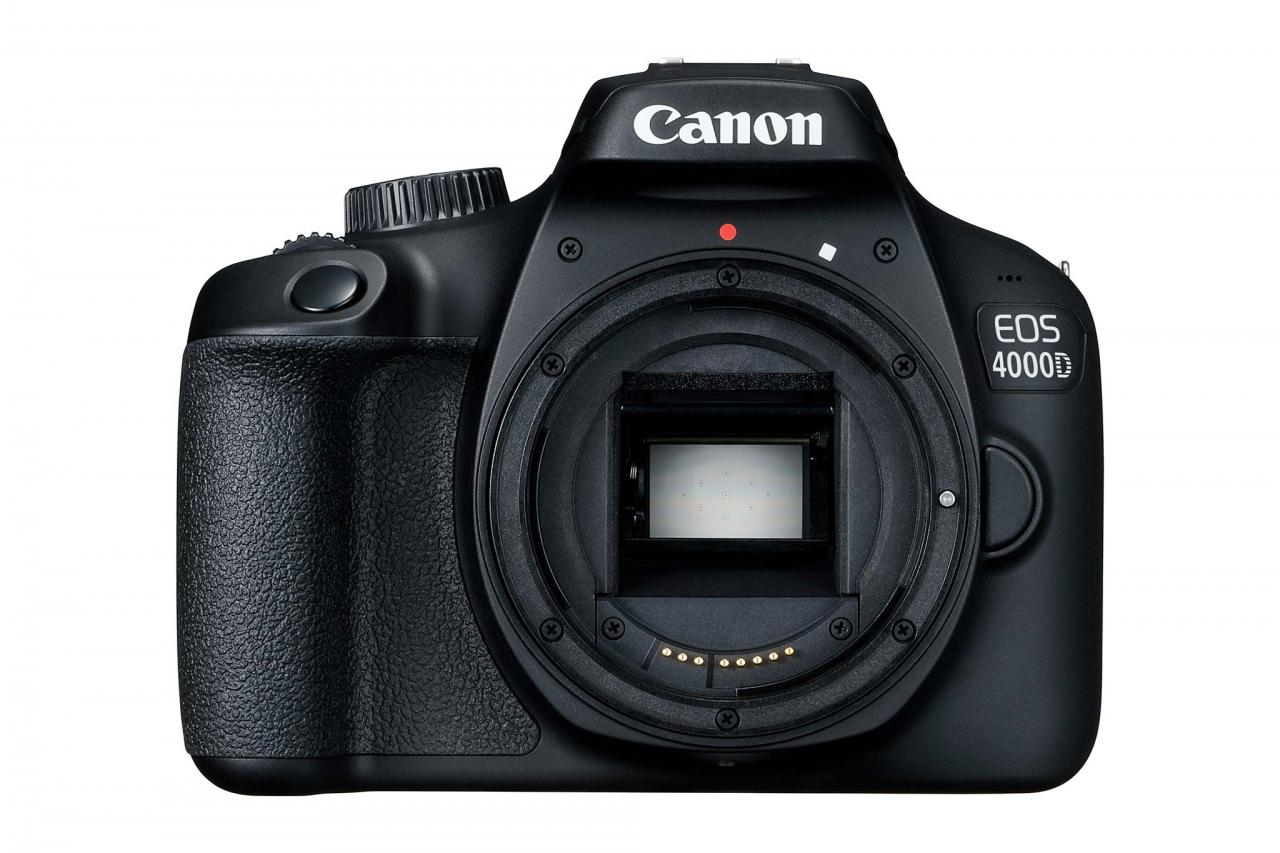 Canon ra mắt EOS 4000D và 2000D: máy ảnh DSLR giá rẻ nhất, quay phim Full HD, Wi-Fi