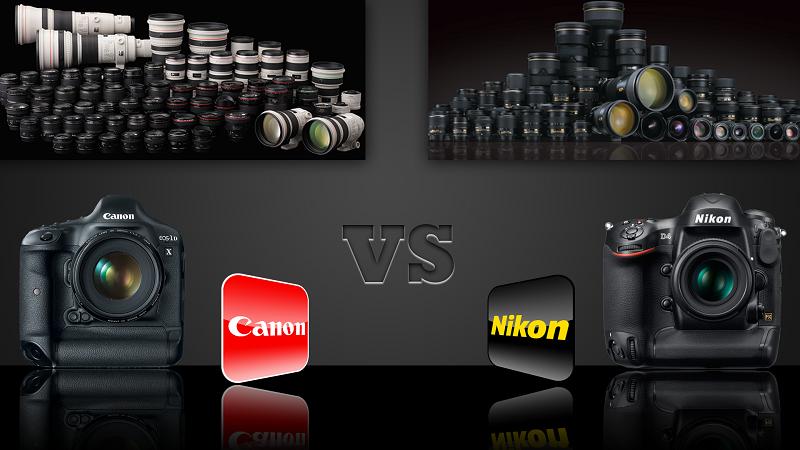 Sự khác biệt giữa máy ảnh Canon và Nikon là gì?