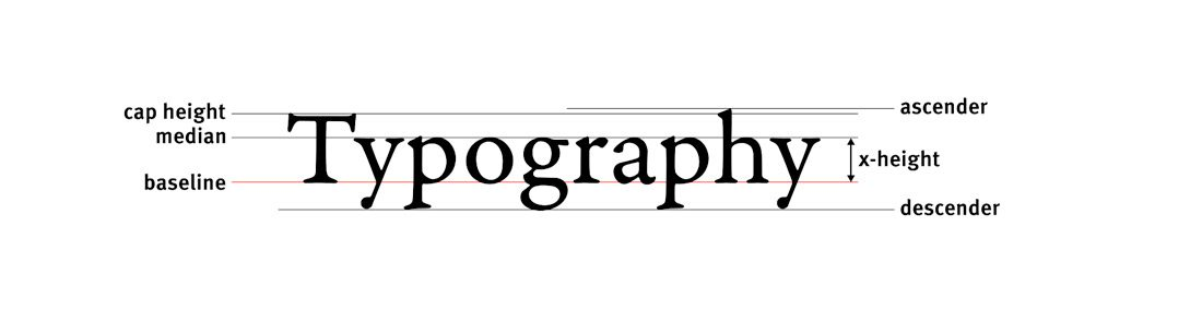20 thuật ngữ Typography dành cho người mới bắt đầu